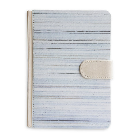 Blue Horizontal Line Journal