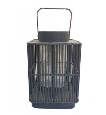 Black Basket Lantern