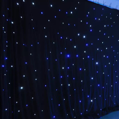 LED Star Cloth Curtain