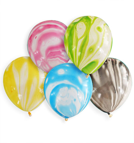 "Assorted Marble 12"" Balloon"
