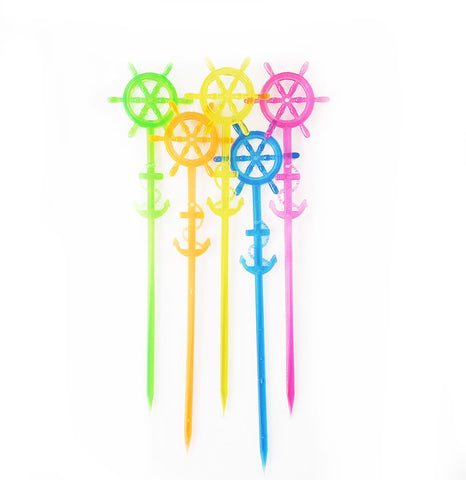 Ship Wheel Drink Stirrer