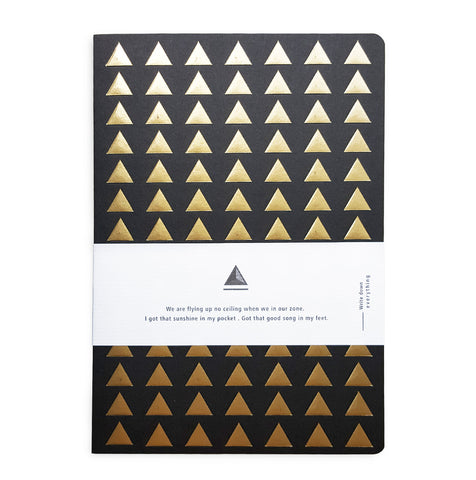 Black/Gold Embossed Journal