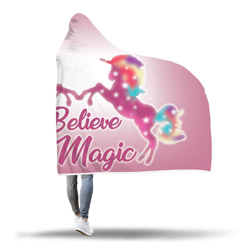Unicorn Hooded Blanket Design 2