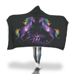 Unicorn Hooded Blanket Design 3