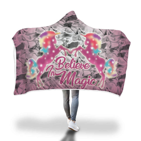 Unicorn Hooded Blanket Design 4