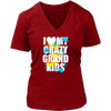 Image of I Love My Crazy Grand kids Shirts