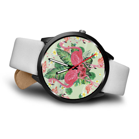 Pink Flamingo Watch