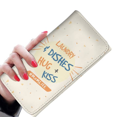 Laundry and Dishes Hugs and Kisses Purse