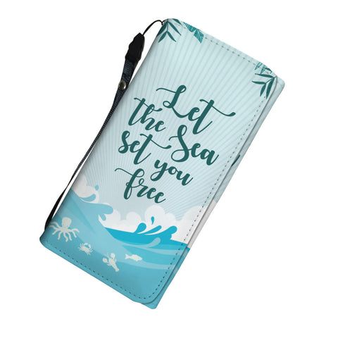 Let The Sea Set You Free Purse