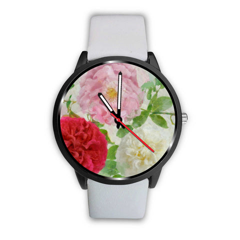 Flower Design Watch