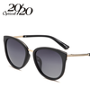 Image of 20/20 Polarized sunglasses women Retro Style Metal Frame Sun Glasses