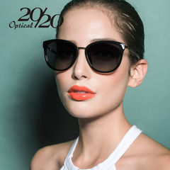 20/20 Polarized sunglasses women Retro Style Metal Frame Sun Glasses