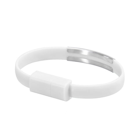 Wristband Micro USB Charger Charging Data Sync For Android Cell Phone