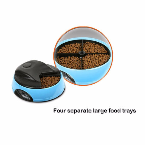4 Meals Automatic Pet Feeder
