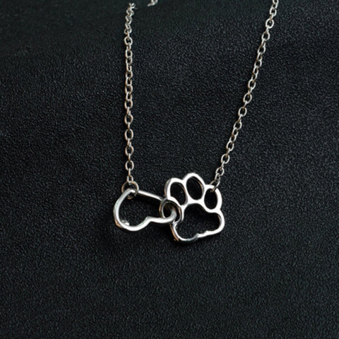 **GIVEAWAY** Paw print with heart necklace **GIVEAWAY**