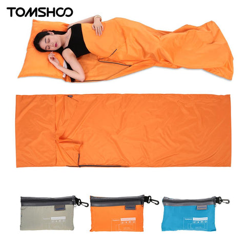 Ultralight design Outdoor Sleeping Bag 70 * 210cm Camping Hiking Bag Liner Portable folding Travel Bags