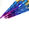Image of 7pcs Purple Blue Diamond Handle Makeup Brush set