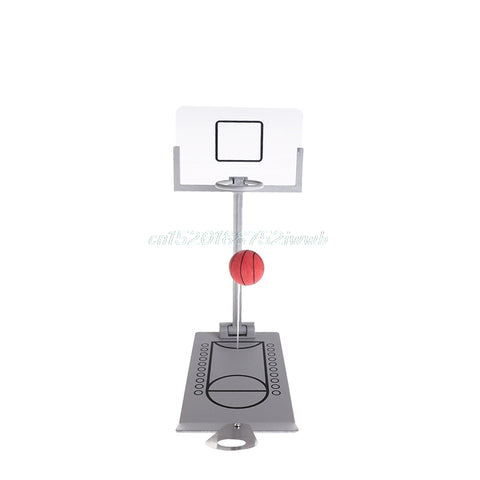 Basketball Game Mini Tabletop Portable Anti-stress Toy Gift For Travel Office