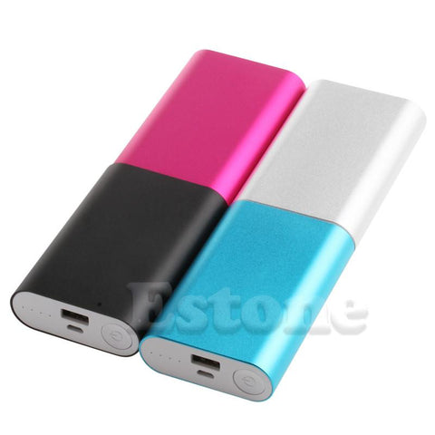 **GIVEAWAY**5V 2.1A Aluminum Power Bank Case Kit 3X 18650 Battery Charger ** GIVEAWAY