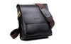 Image of High Quality Leather POLO Men Messenger Bags