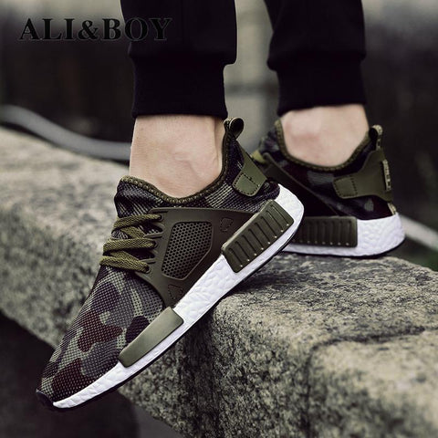 Outdoor Military Camouflage Sports Men/Women Running Shoes Krasovki Army Green Trainers Ultra Boosts