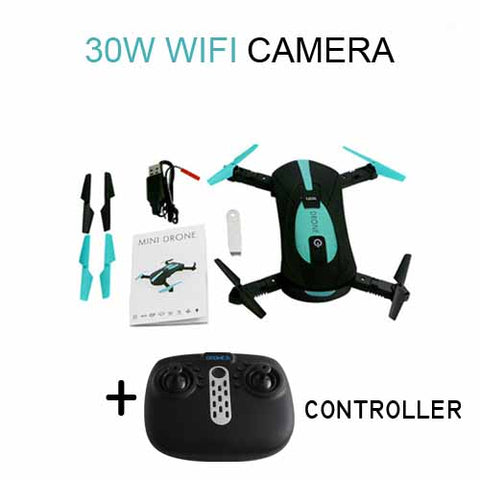 Mini Drone JY018 WIFI 0.3MP 2.0MP Remote Control Foldable Quadcopter Drones with Camera Pocket RC Helicopter