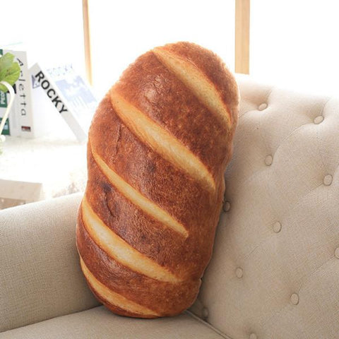 Creative Bread Pattern Pillow