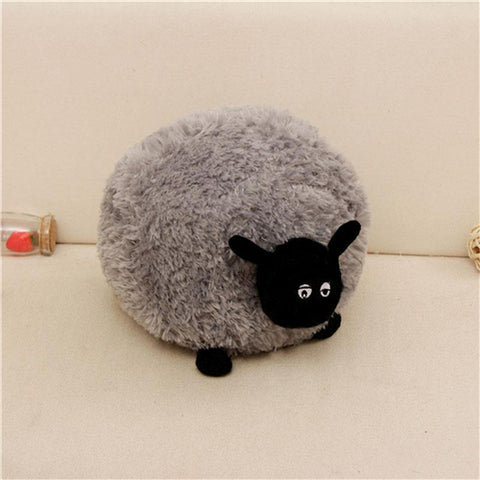 White/Gray Cartoon Sheep Lamb Doll Plush Toys