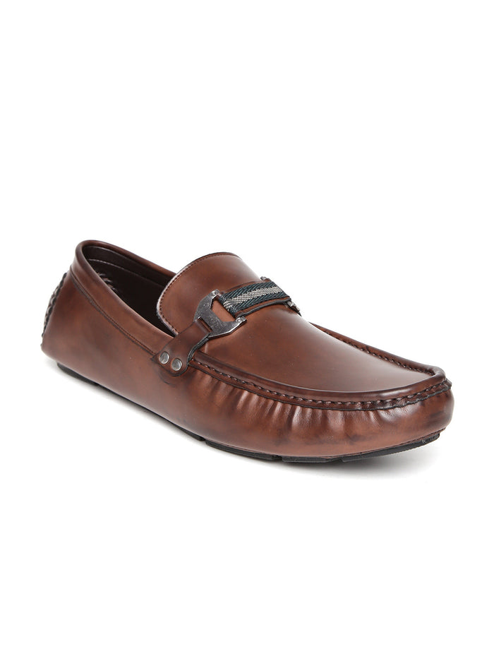 San Frissco Men Coffee Brown Loafers