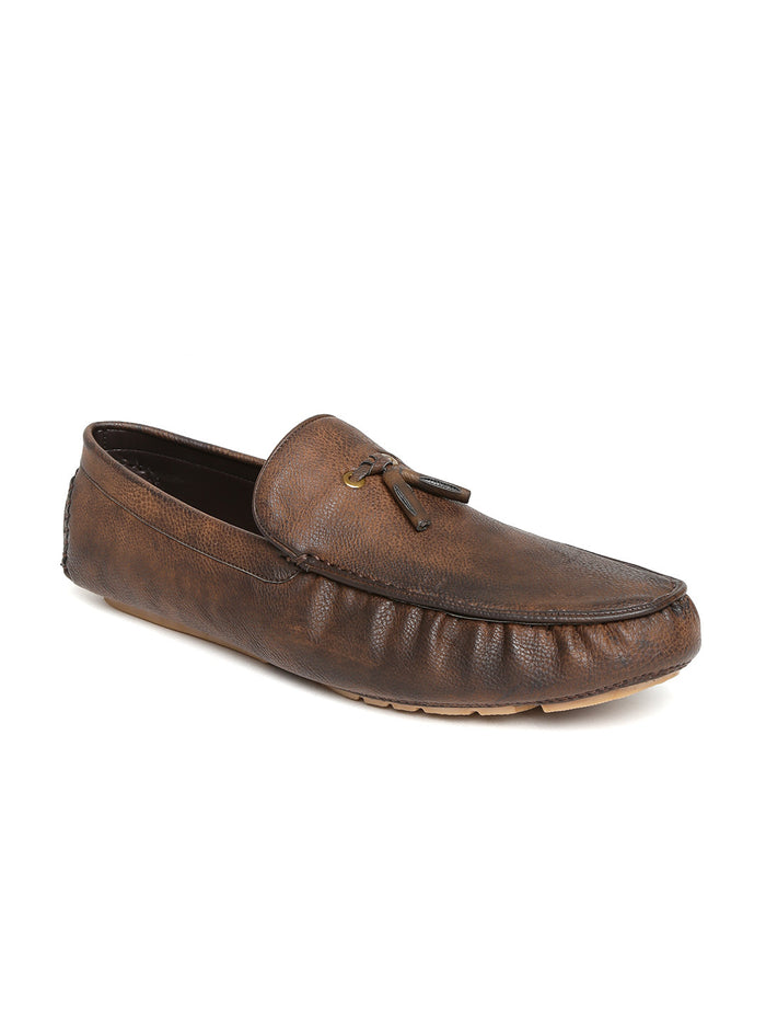 San Frissco Men Dark Brown Loafers