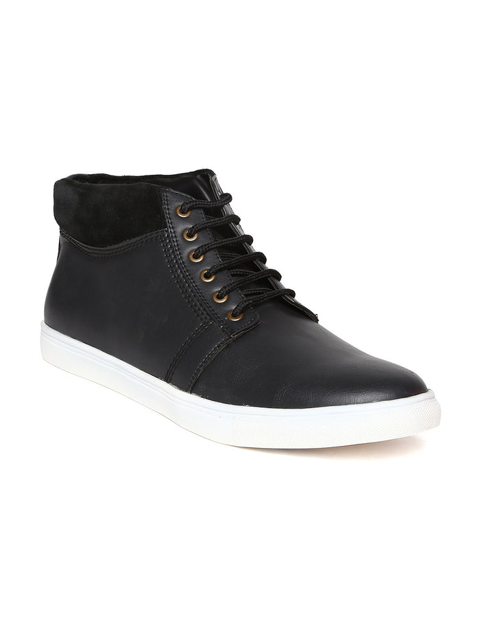 San Frissco Men Black Sneakers