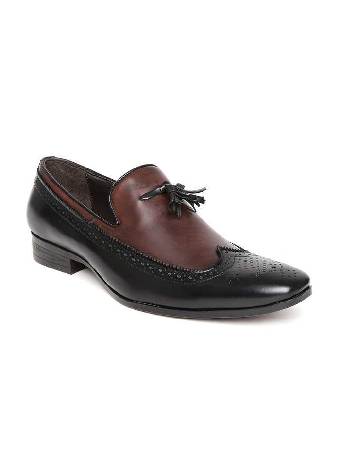 San Frissco Men Black Semiformal Shoes