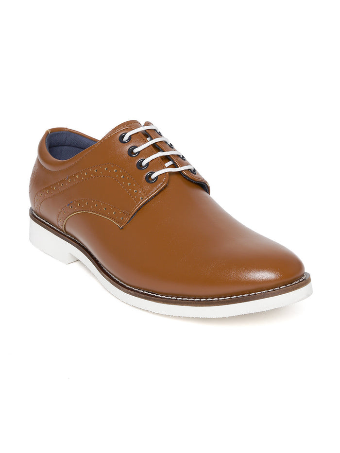 San Frissco Men Brown Lightweight Casual Shoes