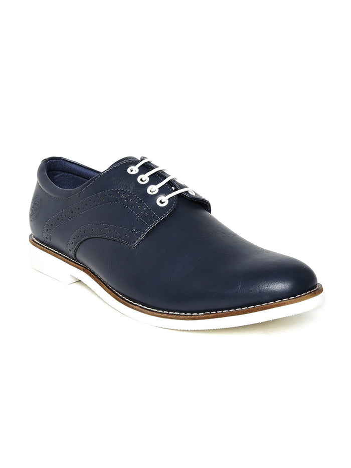 San Frissco Men Navy Lightweight Casual Shoes