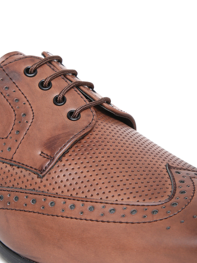 San Frissco Men Brown Brogues