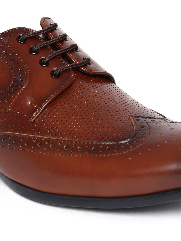 San Frissco Tan Brown Brogues