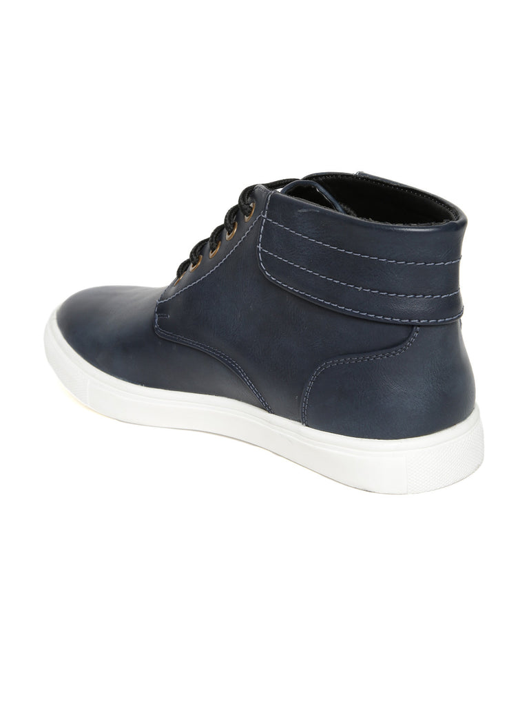 San Frissco Men Navy Casual Shoes