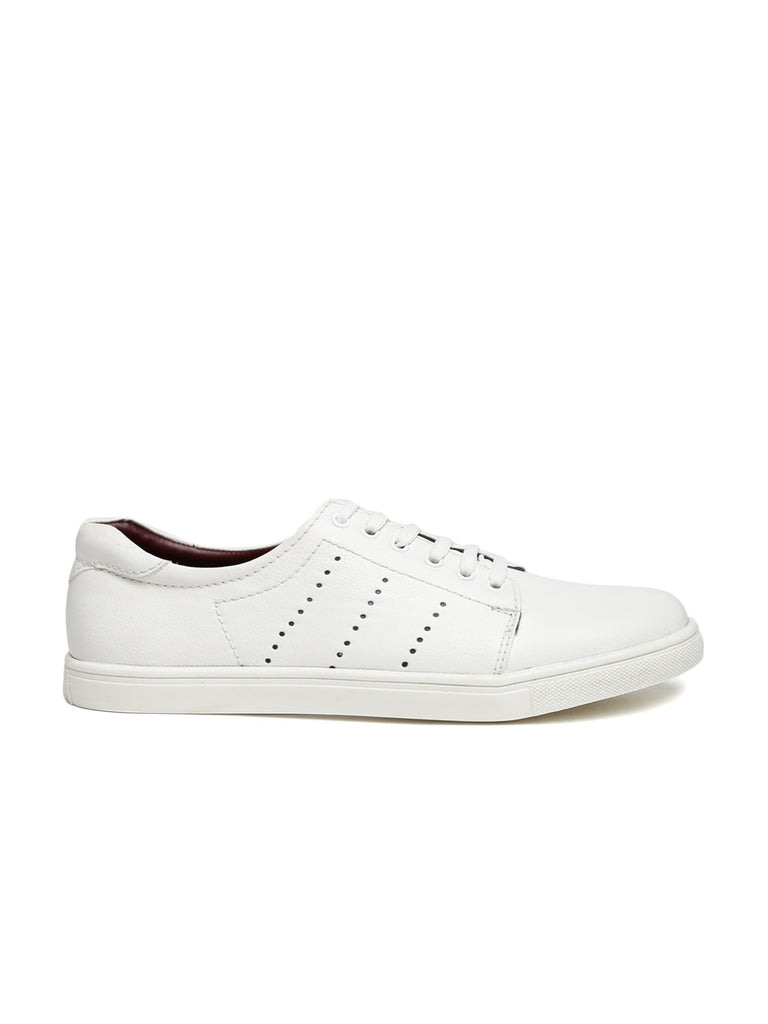 San Frissco Men White Sneakers