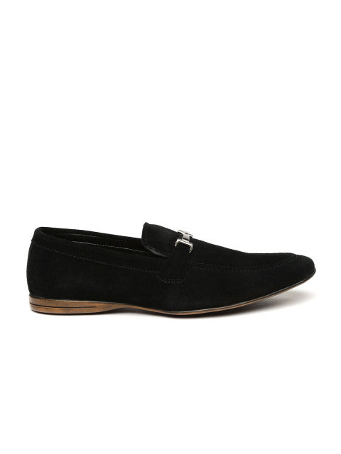 San Frissco Men's Black Loafers