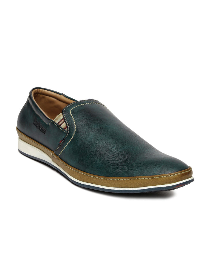 San Frissco Men Navy Slip-On Sneakers