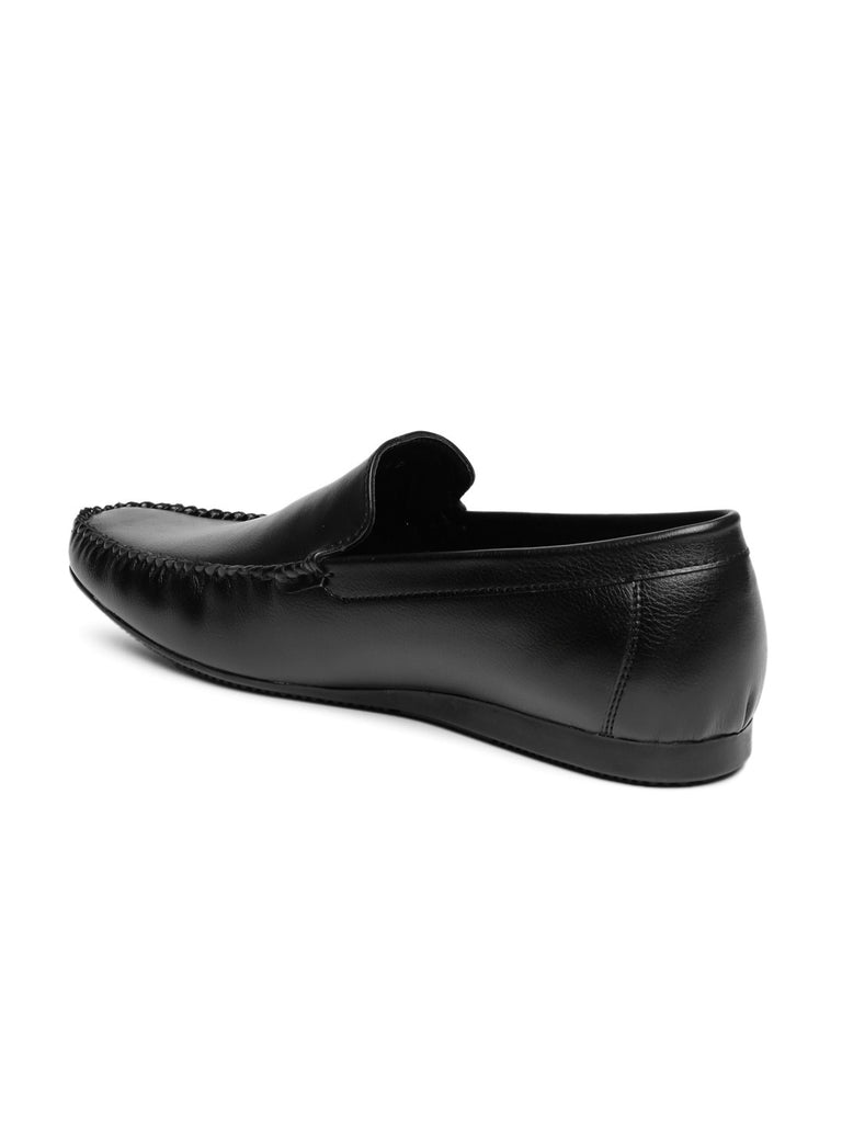 San Frissco Men Black Semiformal Slip-Ons