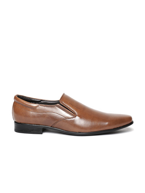 San Frissco Men's Tan Formal Slip-on