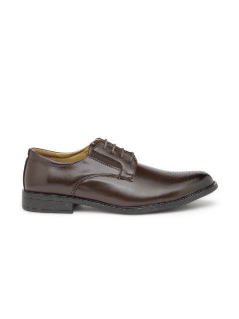 San Frissco Men's Brown Formal Lace-ups