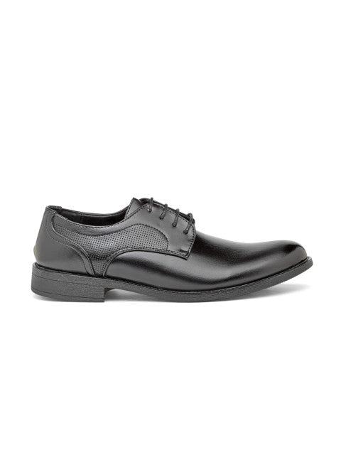 San Frissco Men's Black Formal Lace-ups