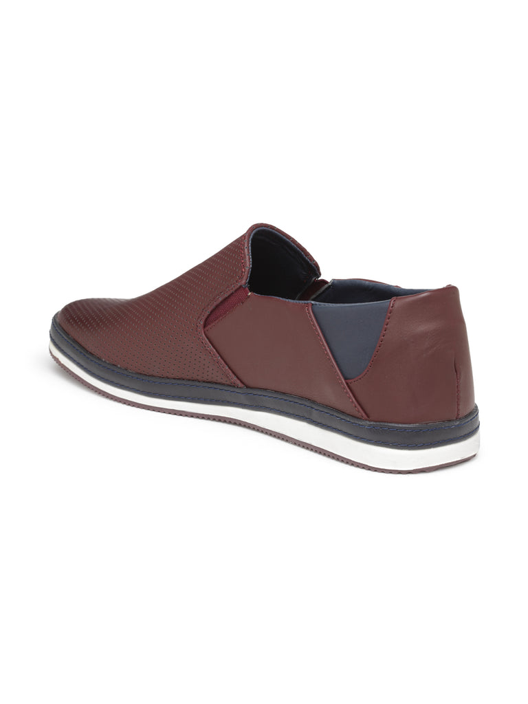 San Frissco Men's Brown Casual Slip-ons