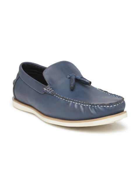 San Frissco men Blue Casual Loafers