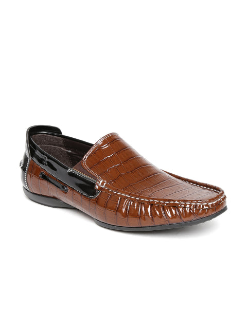 San Frissco Men's Tan Loafers