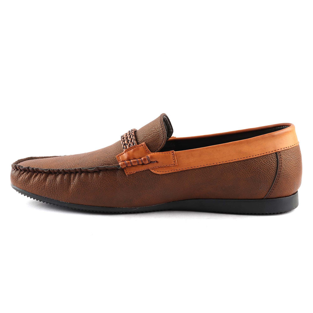 San Frissco Men's Brown Casual Loafers