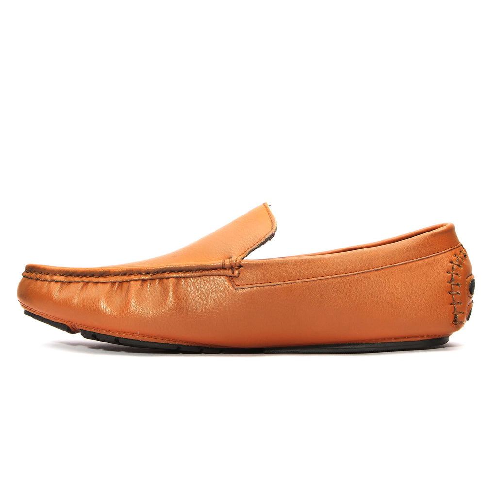San Frissco Men Tan Moccasins