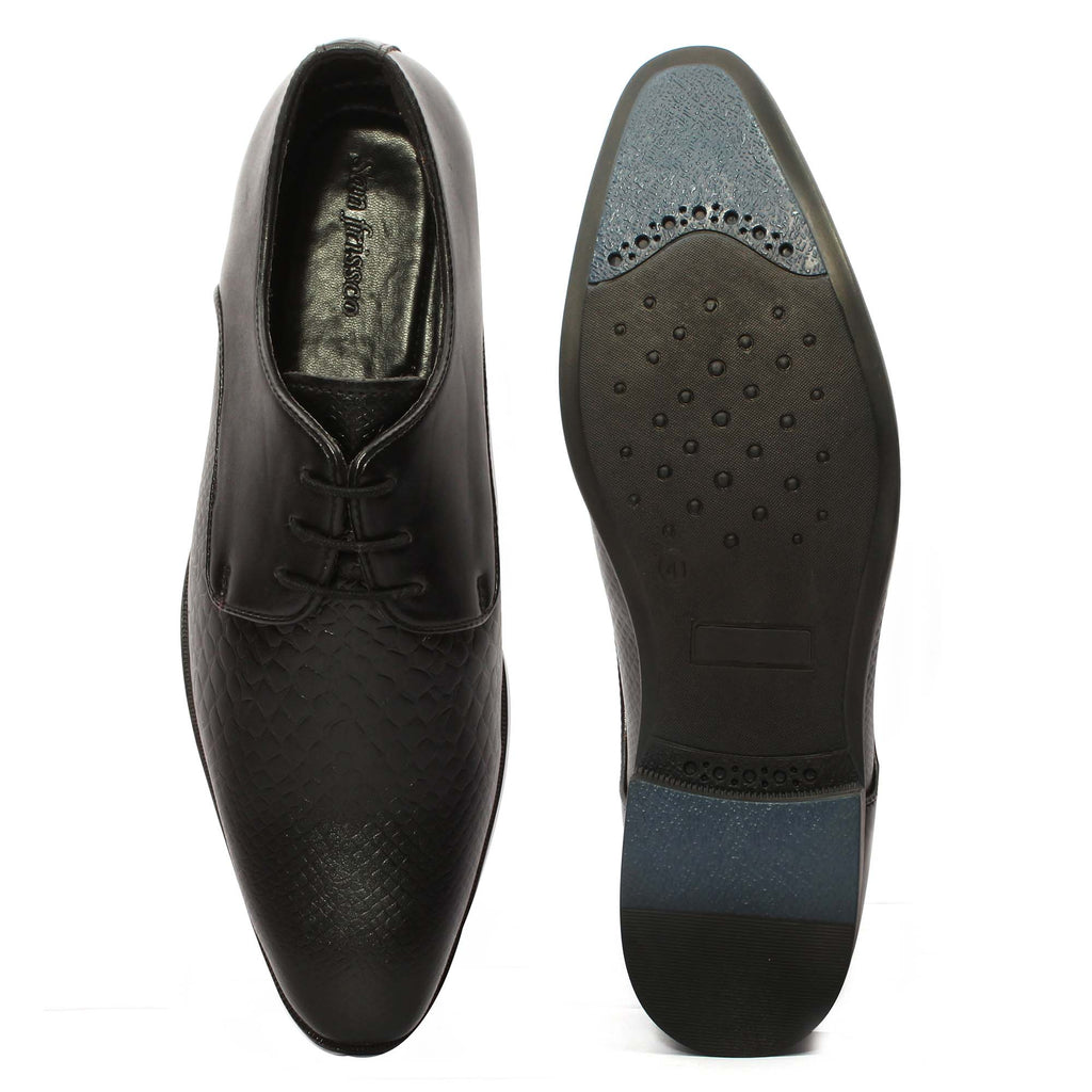 San Frissco Men Black Lace-up